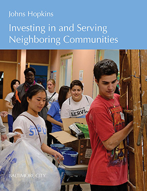 Title page of Investing in and Serving Our Communities does not open to report