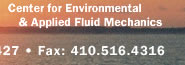 Center for Environmental & Applied Fluid Mechanics