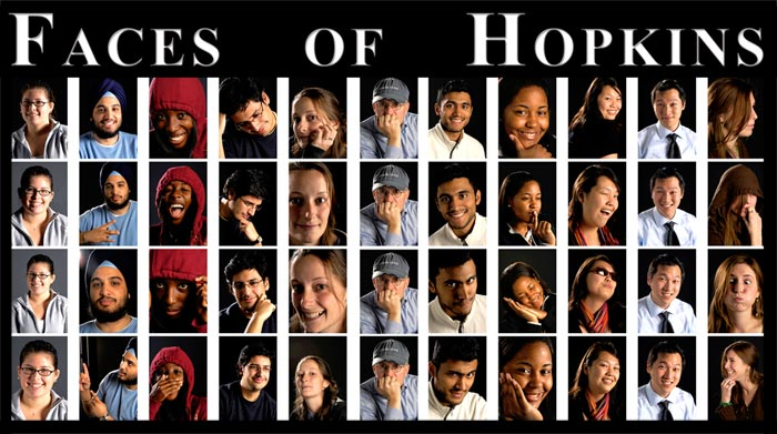 Faces of Hopkins