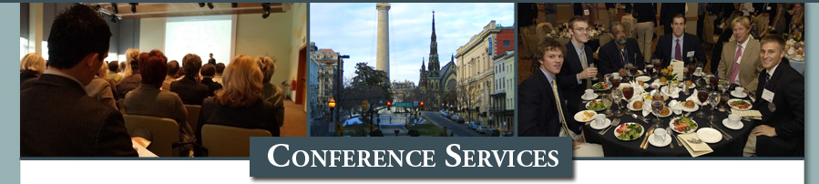 Conference Services banner