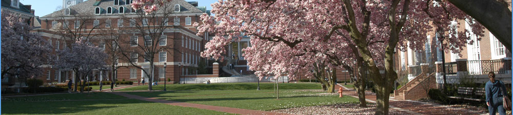 Banner image of Homewood campus