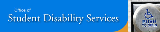 Office of Student Disability Services