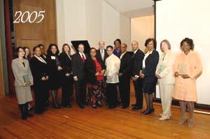 2005 award recipients, group shot
