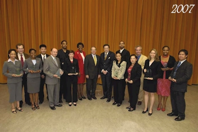 2007 award recipients, group shot