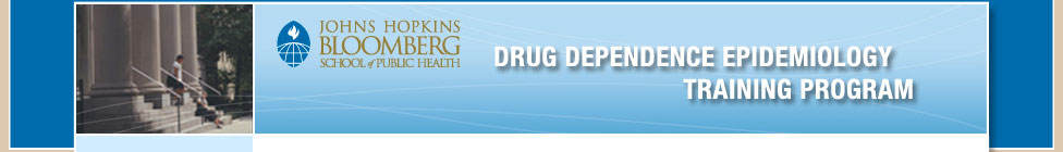 Drug Dependence Epidemiology Training Program
