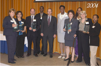 2004 award recipients, group shot