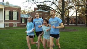Blue Jay women's cross country team members